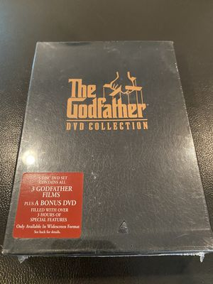 Godfather Series on DVD (unopened & still shrink-wrapped) for Sale in Renton, WA