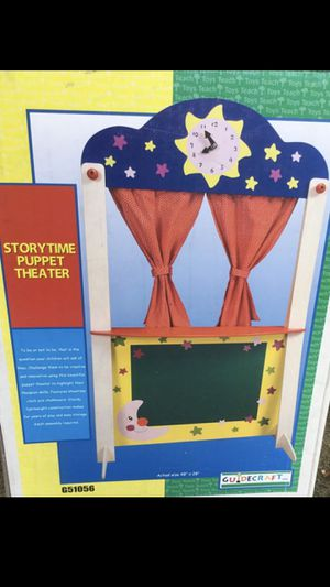 NEW PUPPET THEATER for kids for Sale in Schaumburg, IL