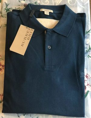Burberry men's XL Polo Shirt. Condition is new with tags. for Sale in Raleigh, NC