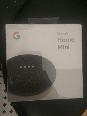 Brand New Google Home Mini Smart Assistant Bluetooth Speaker for Sale in Riverside, CA