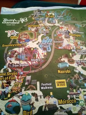 3 bush gardens tickets for Sale in Tampa, FL