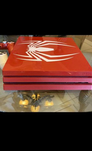 Ps4 pro with two controller for Sale in Clay Township, MI