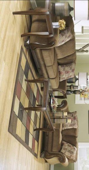 Sofa Loveseat Chair Ottoman Set🍁 for Sale in Houston, TX