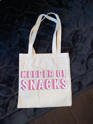 Keeper of Snacks tote bag for Sale in La Verne, CA