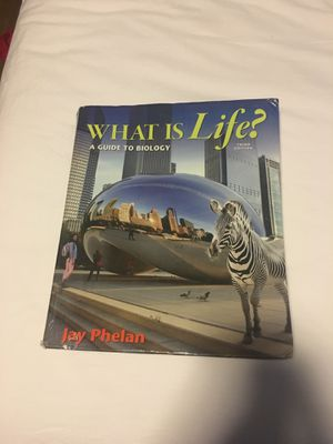 What is life? A guide to biology for Sale in Rancho Cucamonga, CA