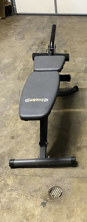 Incline/Decline Weight Bench (w/leg extension-leg curl attachment) for Sale in Paducah, KY