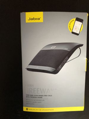 Jabra Freeway Hands Free Speaker Phone and Bluetooth Audio System for Sale in Kinloch, MO