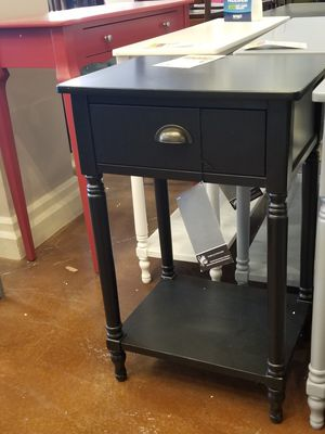 Black Nightstand/End Table for Sale in Phoenix, AZ