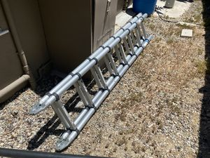 14' aluminum folding ladder for Sale in Los Angeles, CA
