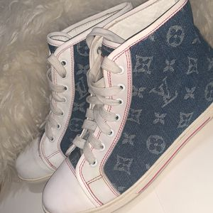 Louis Vuitton, Hight Tops, Size 8, $250 for Sale in Hialeah, FL