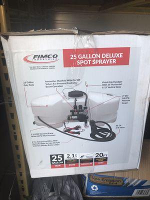 12 volt 25 gallon weed sprayer for Sale in Modesto, CA