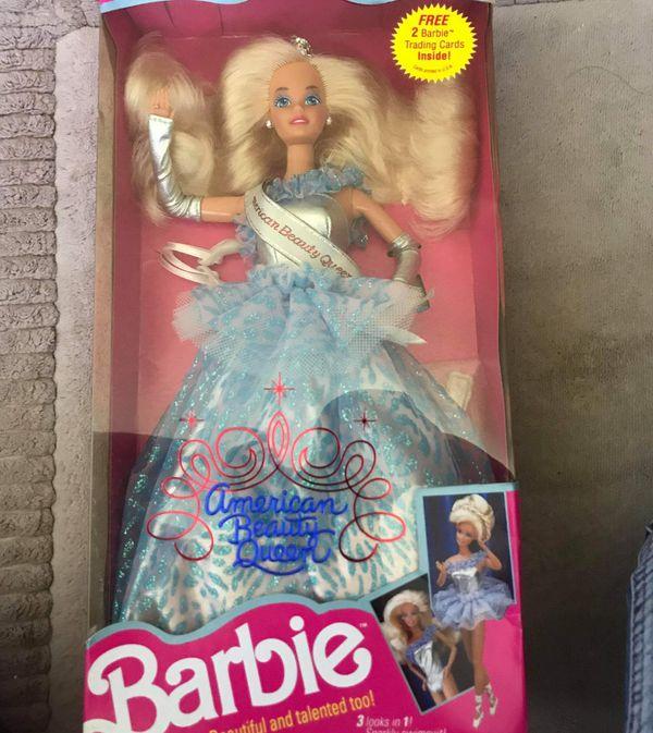 New American beauty queen barbie