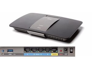 Linksys AC1600 Wi-Fi Wireless Dual-Band+ Router with Gigabit & USB Ports for Sale in Irving, TX