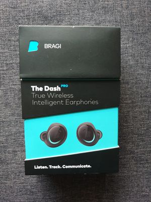 BRAGI The Dash Pro Intelligent Bluetooth Wireless Earphone Earbuds for Sale in Hickory Hills, IL