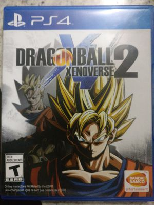Dragon Ball Xenoverse 2 ps4 for Sale in Coppell, TX