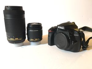 Nikon D3400 24.2MP Kit for Sale in Piedmont, CA