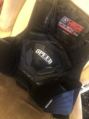 Speed light up option motorcycle vest! BRAND NEW. Paid 150$ selling for 100$. Must go today!!! Still have tags! Never used!!! for Sale in Temple Hills, MD