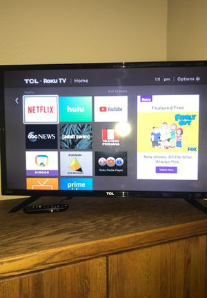 """TCL-Roku TV 24"""" for Sale in Dayton, OR"""