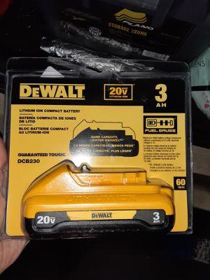 Dewalt 20v 3 amp battery Brand New! And Ryobi 40v 2amp battery! Brand new! And Milwaukee for Sale in Anaheim, CA