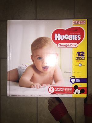 222 count size 2 Huggies brand new for Sale in KNG OF PRUSSA, PA
