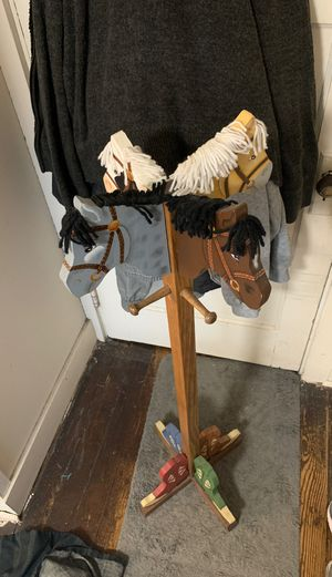 **$10**Handcrafted Kids Cowboy Coat Rack *$10 for Sale in Point Pleasant Beach, NJ