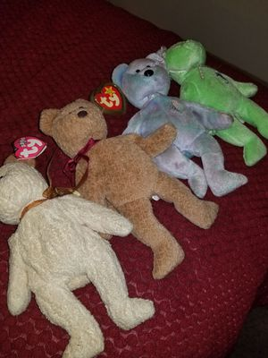 Four Ty Beanie Babies for Sale in Columbus, OH