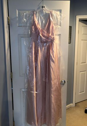 David's bridal long pink dress new sz 8 for Sale in Hanover, MD