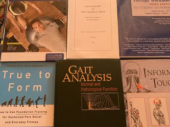 Various Massage Therapy/Personal training/Fitness/Craniosacral Textbooks for Sale in Tucson,  AZ