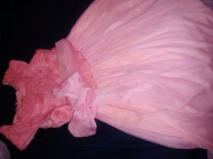 Beautiful girls coral dress for Sale in Houston, TX