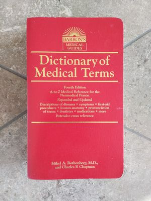 Dictionary of medical terms book for Sale in Westminster, CA