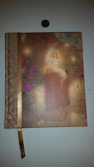 Fairy design hardcover blank book, diary, journal for Sale in Cooper City, FL