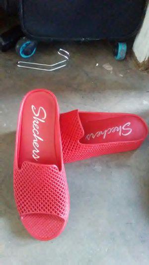 Skechers red sandels for Sale in Glendale, AZ