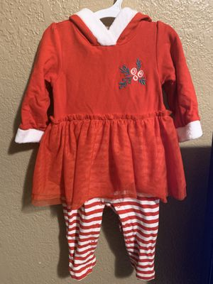 6/9m baby girl xmas outfit for Sale in Fresno, CA