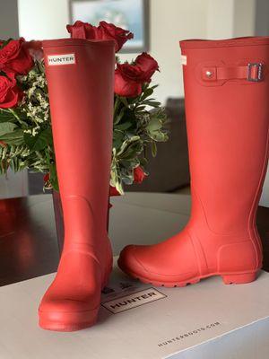 HUNTER Women's Original Tall Rain Boot for Sale in Hollister, CA