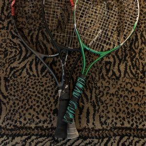 3 Used Tennis Rackets (2 Head, 1 Prince) (potential concerns can be seen in photos) for Sale in Burbank, CA