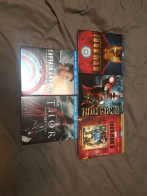 Marvel blu ray combo for Sale in Plantation, FL