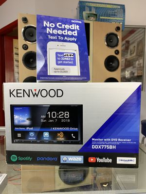 Kenwood full touch car radio with video stereo dvd receiver for Sale in Webster, TX