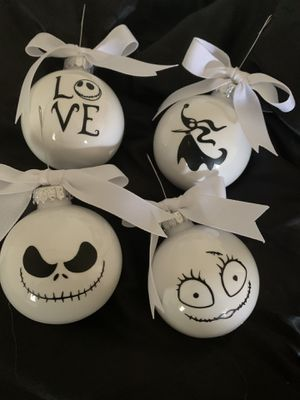 Nightmare before Christmas ornaments for Sale in Portsmouth, VA