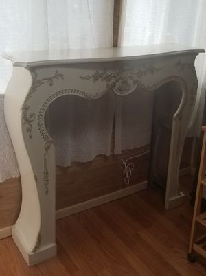 """Fireplace Mantle - wood, 50"""" wide, 47"""" high, 11"""" deep for Sale in Staten Island, NY"""