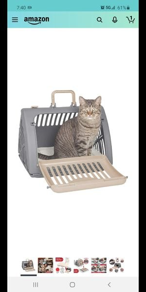 Cat carrier and bed for Sale in Fontana, CA