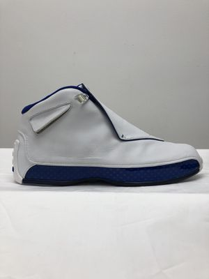Jordan 18 White Sport Royal Men's Sz 13 DS w/OG box for Sale in Chicago, IL