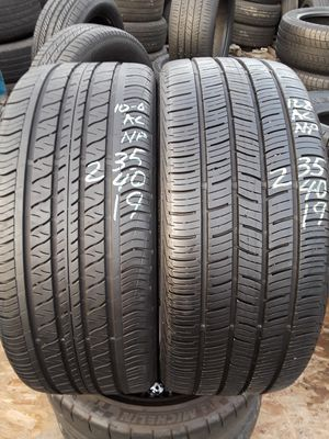 235/40-19 #2 tires for Sale in Alexandria, VA