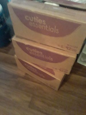 Size 6 pampers 2 boxes left!!! for Sale in DeSoto, TX