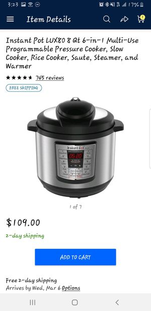 Instant pot for Sale in Chih., MX