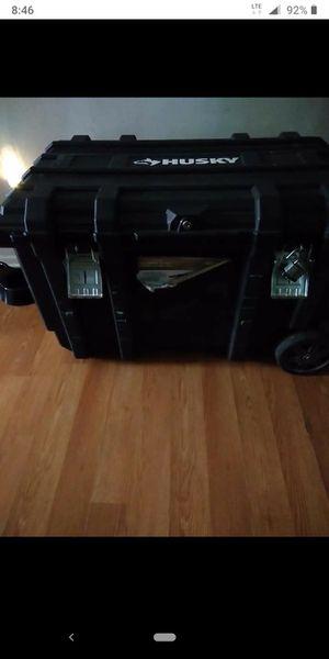 Husky 50gal job box on wheels for Sale in Long Beach, MS