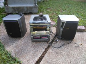 STEREO RECEIVER PLUG PHONE or MIC IN. READ DETAILS for Sale in St. Louis, MO