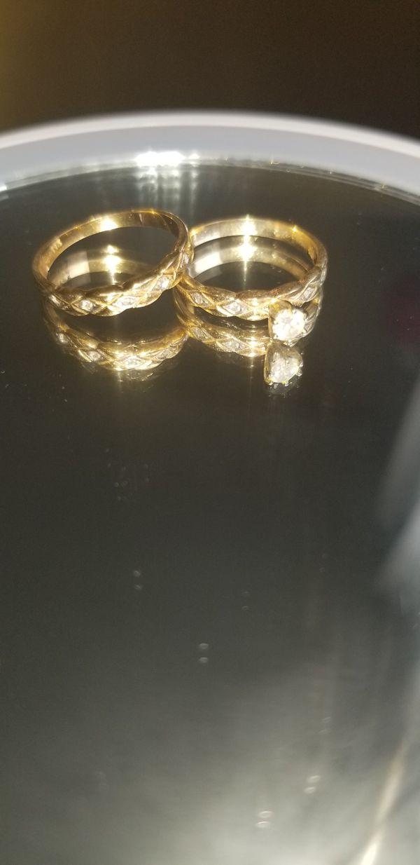 14k gold wedding ring size 7