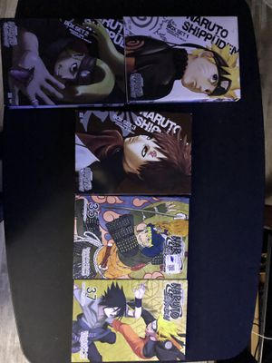 naruto shippuden dvd set 1-3 And 35 And 37 for Sale in Sweetwater, TX