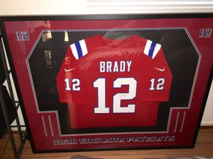 Tom Brady Autograph Jersey for Sale in North Bethesda, MD