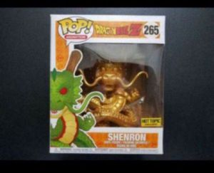 FUNKO POP DRAGONBALL Z GOLD SHENRON HOT TOPIC EXCLUSIVE for Sale in Moreno Valley, CA